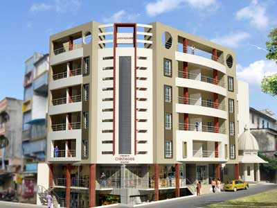 Residential/commercial Complex for Chintamani at Shukrwar Peth, Kolhapur