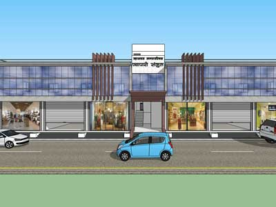 Shopping Complex at Mhaswad